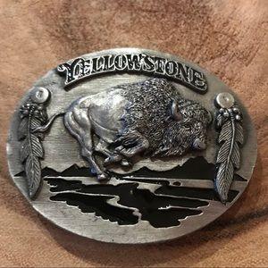 Vintage RARE Siskiyou Yellowstone Buckle (1997)